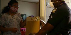 "Georgia Officer Donates ""Hazard Pay"" to Help Students"