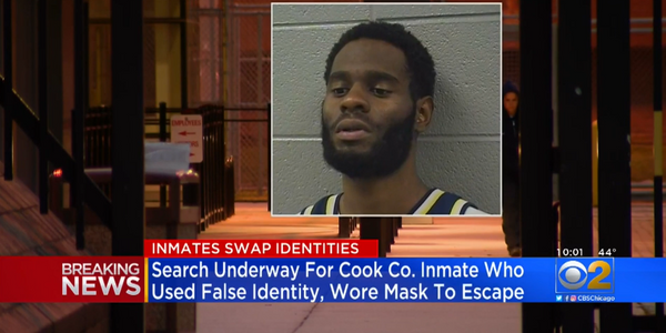 Chicago Inmate Uses Virus Mask for Escape