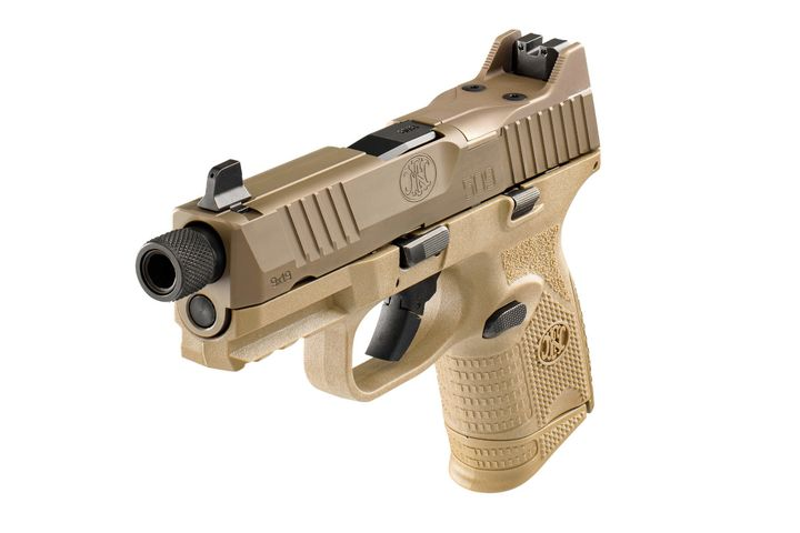 FN says the new FN 509 Compact Tactical is the smallest and most concealable 9mm tactical pistol available on the market. (Photo: FN) -