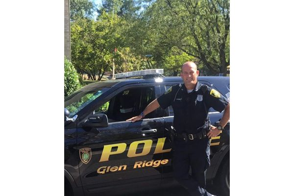 "Chief Sheila Byron-Lagattuta announced that Officer Charles ""Rob"" Roberts is the first line-of-duty death within the history of the agency, which was established in 1895. - Image courtesy of the Glen Ridge (NJ) Police Department."