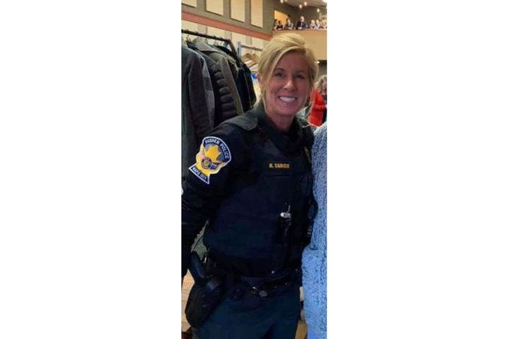 Kristen M. Carich, a Special Police Officer with the Goshen (IN) Police Department died of cancer this week. (Photo: Goshen PD/Facebook) -