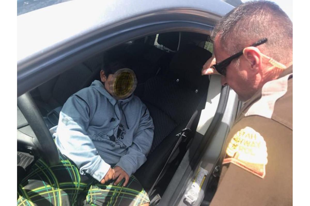 Video: Utah Trooper Pulls Over Child Driving on I-15, Heading to California to Buy Lamborghini