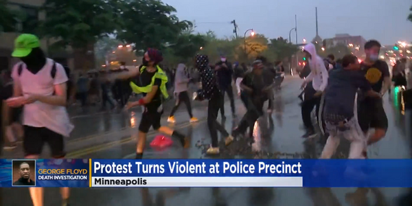 4 Officers Fired Over Suspect's Death, Violent Protests Erupt in Minneapolis