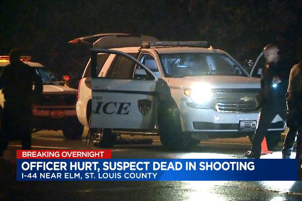 Gunman Who Shot Missouri Officer Dies of His Wounds