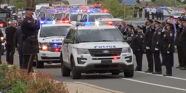 Funeral Held for Slain Philadelphia Officer, Delayed 2 Months by Pandemic