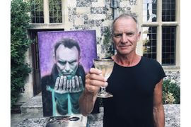 New York Officer Who Passed Gets His Final Wish: Giving a Painting to Rock Legend Sting
