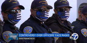 """San Francisco Chief Bans Use of """"Thin Blue Line"""" Facial Masks"""