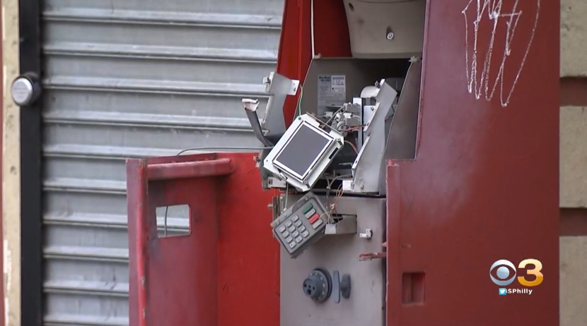 Man Blowing Up ATM Killed in Philadelphia