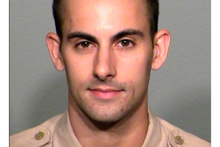 Officer Shay Mikalonis was shot in early June and has been hospitalized ever since the incident. (Photo: Las Vegas Metro PD) -