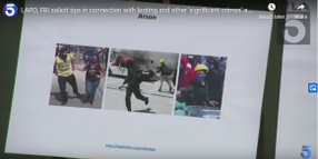 LA Task Force Chasing Suspects Who Tried to Kill Officers During Riots