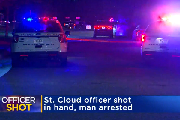 Minnesota Officer Shot in Hand by Suspect Resisting Arrest