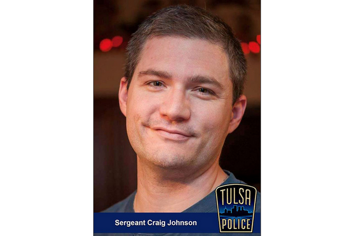Sgt. Craig Johnson of the Tulsa Police Department died Tuesday. He was shot multiple times during a Monday traffic stop. (Photo: Tulsa PD) -