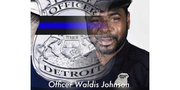 Officer Waldis Johnson was shot in the head in April 2017 while responding to a domestic call...