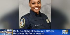 Maryland Officer Recognized As National SRO of the Year