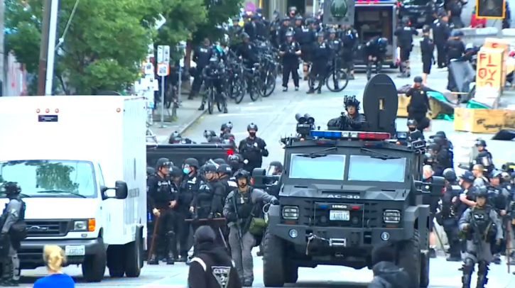 Seattle Police Clear Out Occupied Zone, Arrest 31