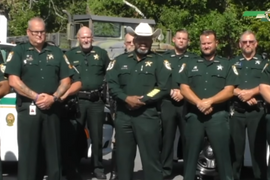 Florida Sheriff Warns Rioters That He Will Deputize Gun Owners If Necessary to Keep Peace