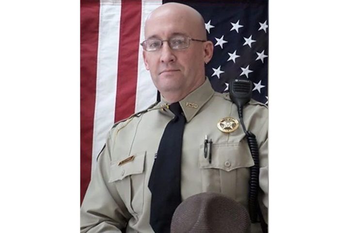 Deputy William Garner of the Franklin County (GA) Sheriff's Office was struck by a vehicle and killed Sunday. (Photo: Franlin County SO) -