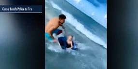 Off-Duty Florida Officer Saves Boy From Shark at Beach