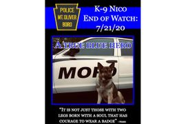Pennsylvania Agency Announces Death of Beloved K-9