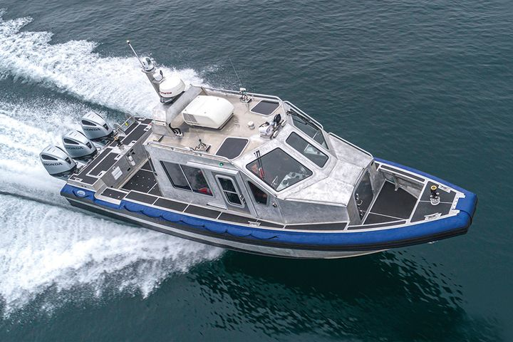 Lake Assault Boats has been chosen to produce up to 119 Force Protection-Medium (FP-M) patrol boats for the U.S. Navy. (Photo: Lake Assault Boats) -