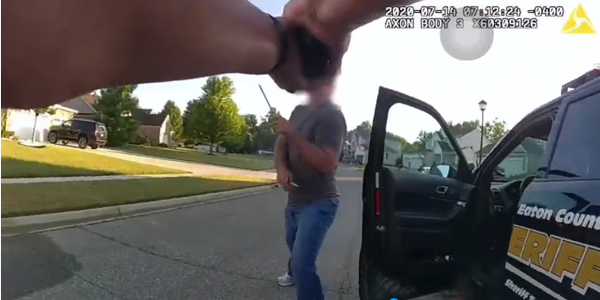 Video Shows Deadly Confrontation Between MI Deputy and Suspect who Stabbed Man Over COVID Mask