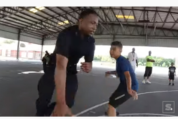 New York Officer in Viral Video Named Assistant Basketball Coach