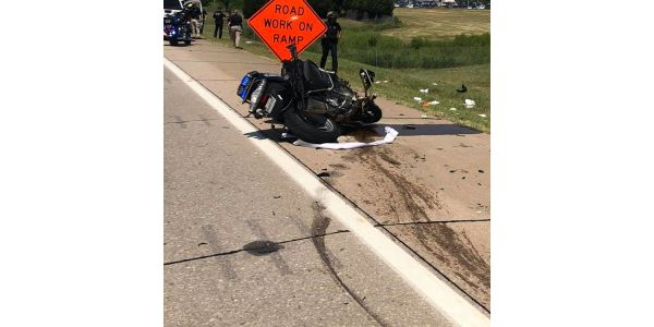 Three Oklahoma Highway Patrol troopers were seriously injured in motorcycle crashes during the...