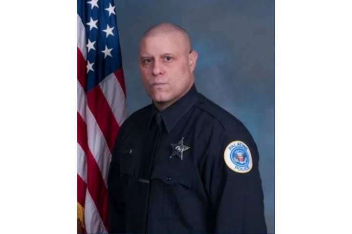 Officer Victor Lopez of the Palatine (IL) Police Department drowned off duty last week. (Photo: Palatine PD) -