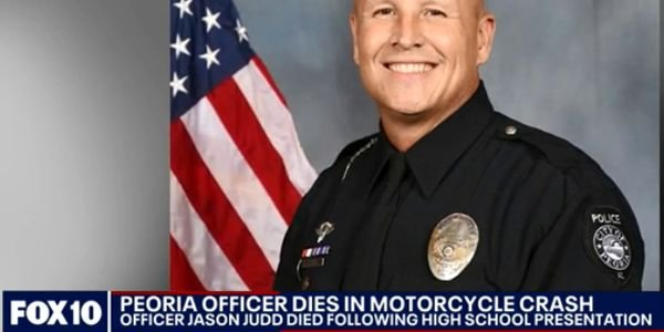 Officer Jason Judd—a 21-year veteran of the force—was seriously injured in the crash on the...
