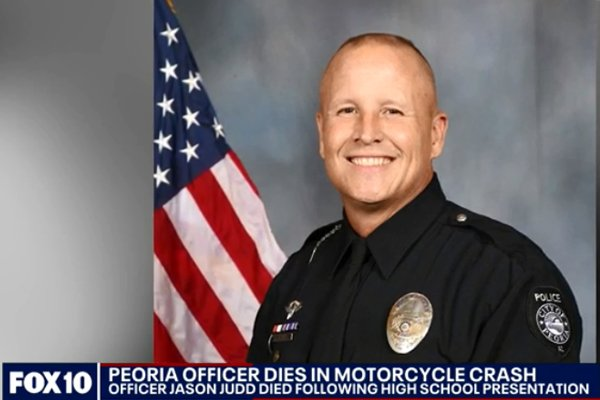 Arizona Motor Officer Dies in Crash During Demonstration at School