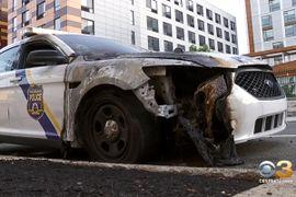 Multiple Philadelphia Patrol Cars Burned Over the Weekend