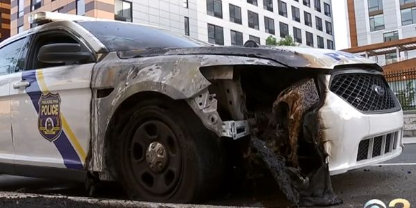Multiple patrol vehicles were set on fire across the city of Philadelphia over the weekend and...