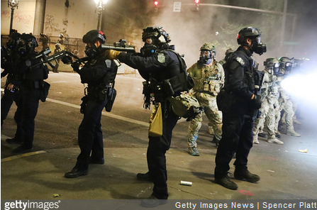DHS, Governor Reach Agreement to Withdraw Federal Officers from Portland Riot Response