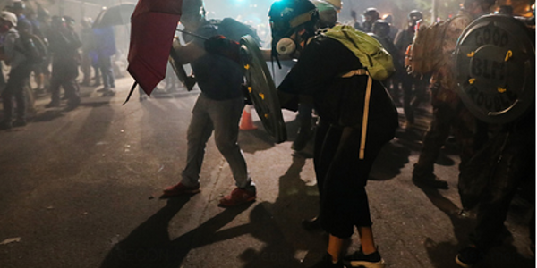 A Look at Both Sides of Portland Riots