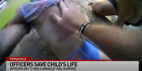 Florida Officers Save Toddler Found Floating in Pool