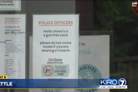 Seattle Ice Cream Shop Bans Armed Police