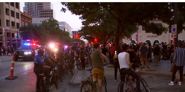 During protests over the in-custody death of George Floyd in May, officers in Austin (TX) have...