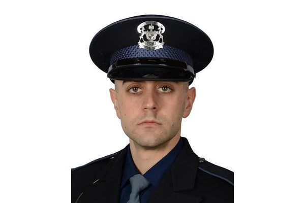 Trooper Caleb Starr died after having been hospitalized for about three weeks following a collision with a suspected drunk driver. - Image courtesy ofMichigan State Police / Facebook.