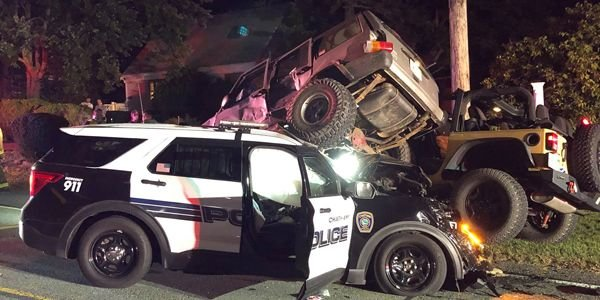 An officer with the Chatham Police Department was injured in a three-vehicle wreck Tuesday...