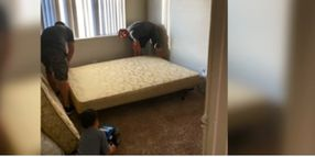 Nevada Officers Help Mother and 4 Kids in Need