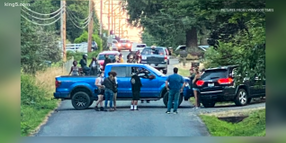 Protesters March on Seattle Chief's Home, Met by Armed Neighbors