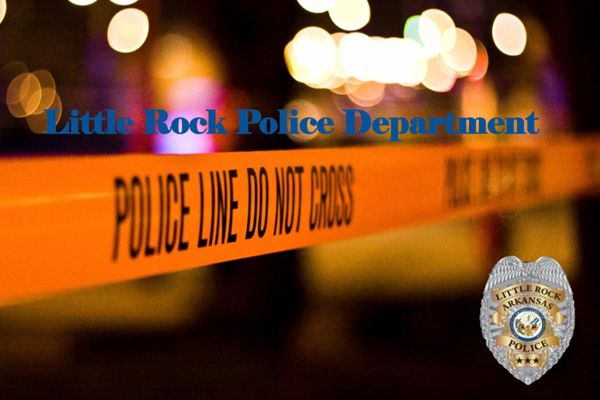 Authorities have arrested two men in connection with a drive-by shooting that left a Little Rock (AK) police officer wounded over the weekend. - Image courtesy of Little Rock Police Department / Twitter.