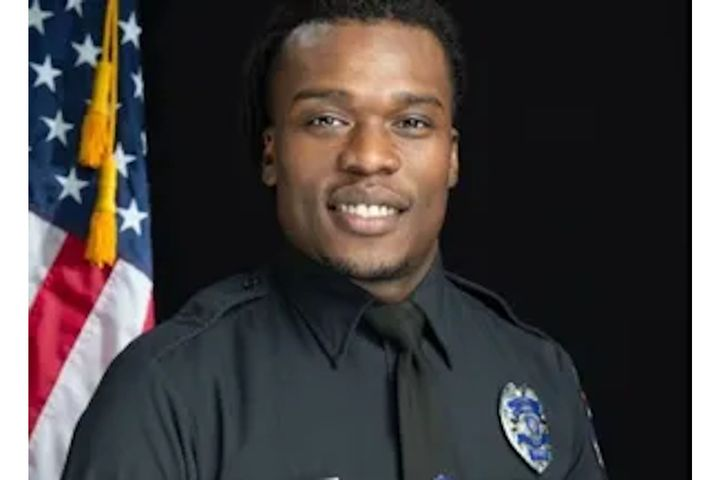 Officer Joseph Mensah of the Wauwatosa, WI, police was attack by a mob at his home Saturday. (Photo: Wauwatosa PD) -