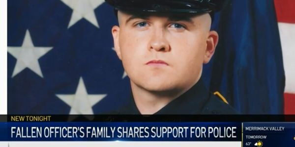 The family of Officer Sean Collier the MIT Police Department—who was killed in the aftermath of...