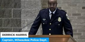 """Milwaukee Captain Says at Officer's Funeral Service: """"Care for Each Other"""""""