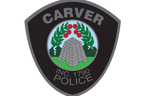 An officer with the Carver (MA) Police Department is recovering from a dog bite he sustained while responding to a call for service on Saturday. - Image courtesy of Carver Police Department / Facebook.