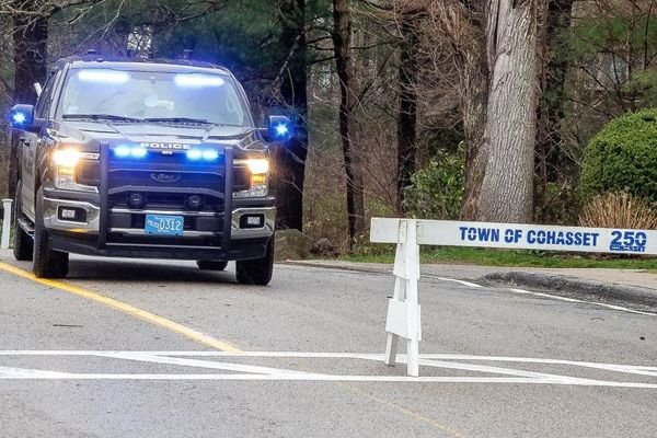 The chief of police in Cohasset (MA) has announced to local citizens that the police officers hired for the summer tourist / vacation season will remain on the force for an indeterminate period of time as the community continues to deal with the COVID-19 pandemic. - Image courtesy of Cohasset PD / Facebook.