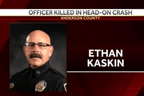 South Carolina Officer Killed in Head-On Crash