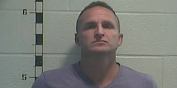 Former Louisville Metro Police officer Brett Hankison was booked and released from the Shelby...