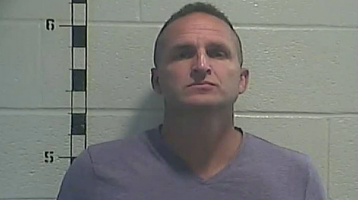 Former Louisville Metro Police officer Brett Hankison was booked and released from the Shelby County Detention Center. (Photo: Shelby County Detention Center) -